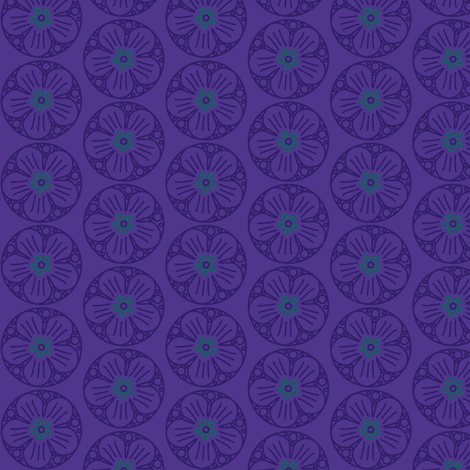 mew purple fabric by alekat on Spoonflower - custom fabric
