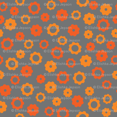 Robotika Gears (Orange)