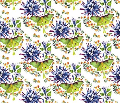 Evening fabric by marlene_pixley on Spoonflower - custom fabric