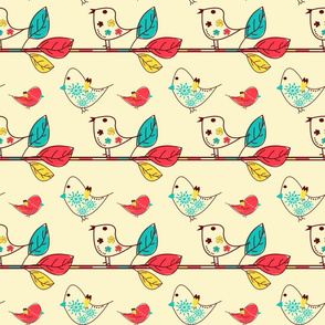 spring birds time