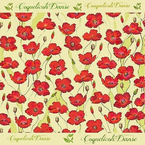 Dancing Poppies-Susi Franco Floral Collection