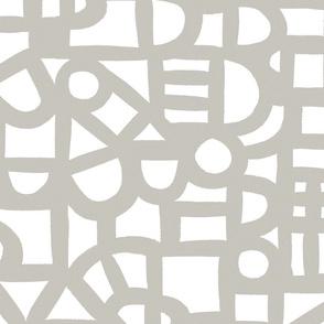 Windows - warm Grey - Wallpaper