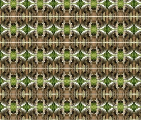 Elephant Geometric fabric by ravynscache on Spoonflower - custom fabric