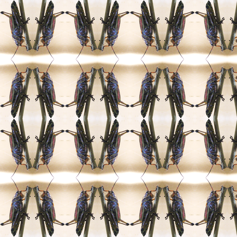 Grasshopper fabric by ravynscache on Spoonflower - custom fabric