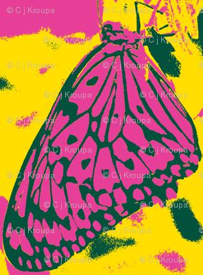 Neon Butterfly Wings