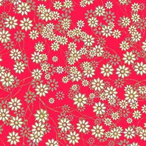 Meadow Floral Sprays in Rose