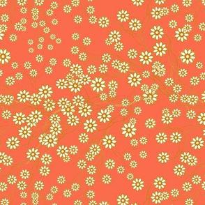 Meadow Floral Sprays in Mango