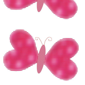 Mosaic Butterfly Wall Decal