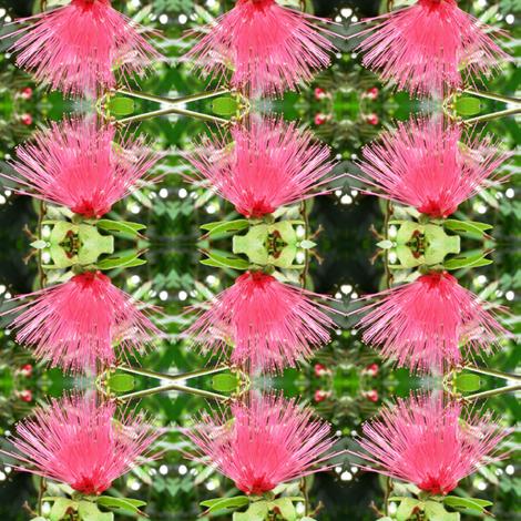 Mimosa Puffs fabric by ravynscache on Spoonflower - custom fabric