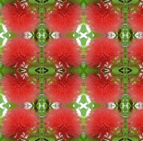 Christmas Pompoms fabric by ravynscache on Spoonflower - custom fabric
