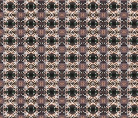 Portrait of a Giraffe fabric by ravynscache on Spoonflower - custom fabric