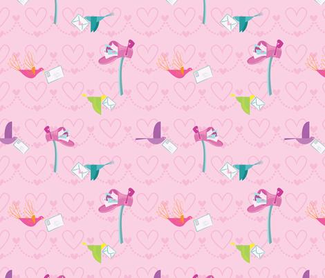 Send Me Your Love fabric by spicysteweddemon on Spoonflower - custom fabric