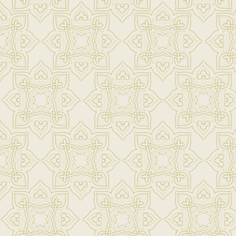 Kayseri in taupe fabric by delsie on Spoonflower - custom fabric