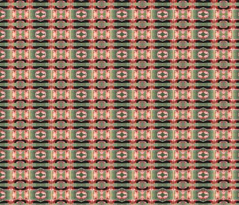 Flamingo Wings Geometric fabric by ravynscache on Spoonflower - custom fabric