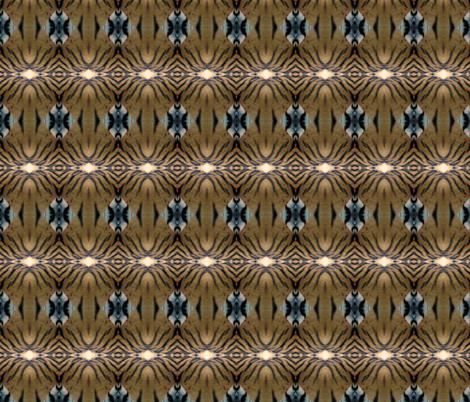 Tiger Stripe Geometric fabric by ravynscache on Spoonflower - custom fabric