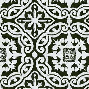 black n grey tile-ch