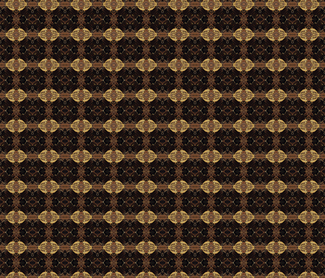 Ice Coffee small fabric by sarahdesigns on Spoonflower - custom fabric