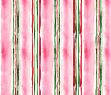 antoinette rayure1 M fabric by nadja_petremand on Spoonflower - custom fabric