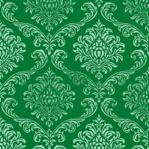 Timeless brocade/ Emerald