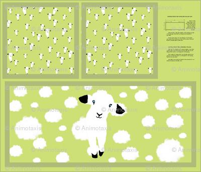 Baby Lamb Pillow Slip