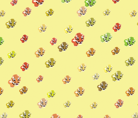 Tiger Babies fabric by animotaxis on Spoonflower - custom fabric