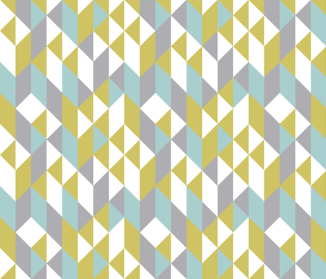 Modern Quilt fabric by witee on Spoonflower - custom fabric
