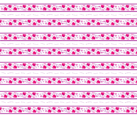 Hearts_4_copy fabric by gcatmash on Spoonflower - custom fabric