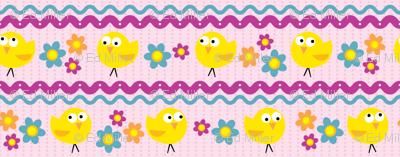 Chicks & Flowers Lavender