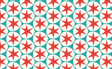 kaboom_ster fabric by myracle on Spoonflower - custom fabric