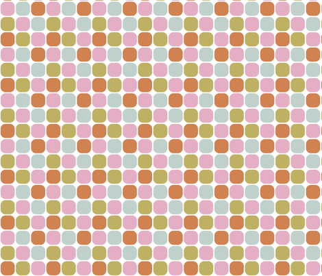 Rounded Squares fabric by witee on Spoonflower - custom fabric