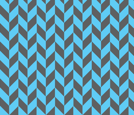 Gray-Teal Herringbone fabric by gates_and_gables on Spoonflower - custom fabric