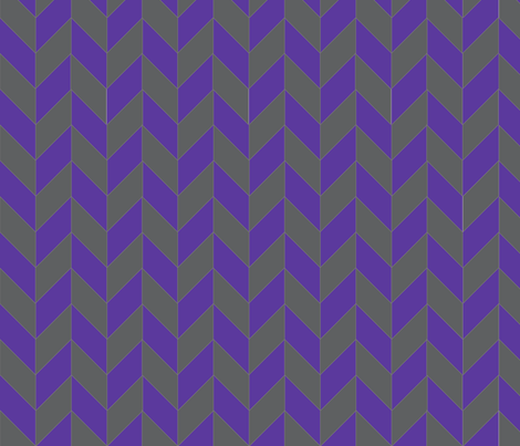 Purple-Gray Herringbone fabric by gates_and_gables on Spoonflower - custom fabric