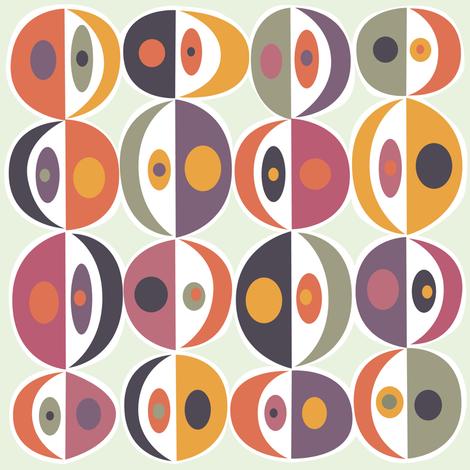 Punch_Dot_red fabric by antoniamanda on Spoonflower - custom fabric