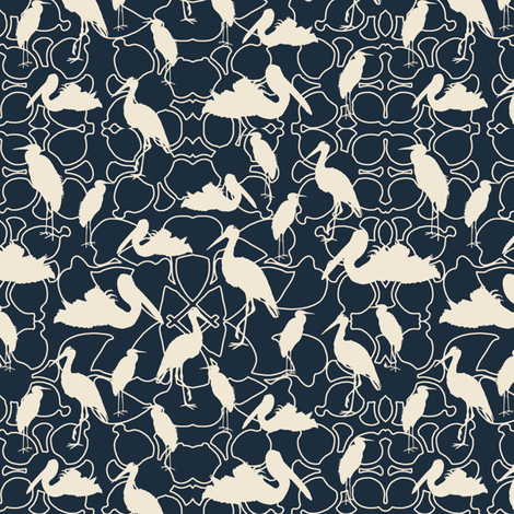 Lillypond fabric by kathyjuriss on Spoonflower - custom fabric