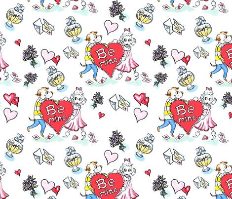 singlevalentine_repeater fabric by mcuetara on Spoonflower - custom fabric
