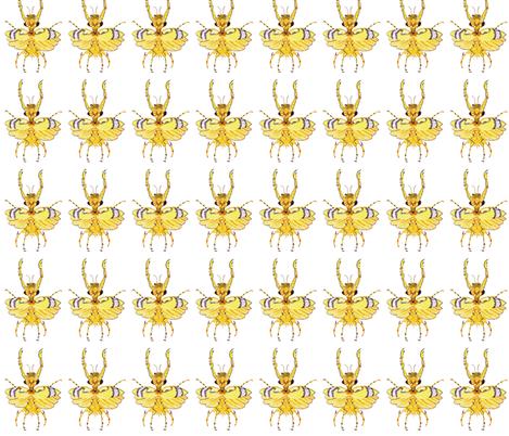 Skinny Bug fabric by bad_penny on Spoonflower - custom fabric