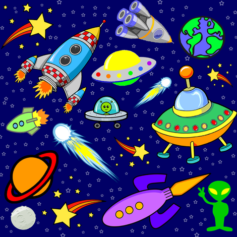 space fabric by krs_expressions on Spoonflower - custom fabric