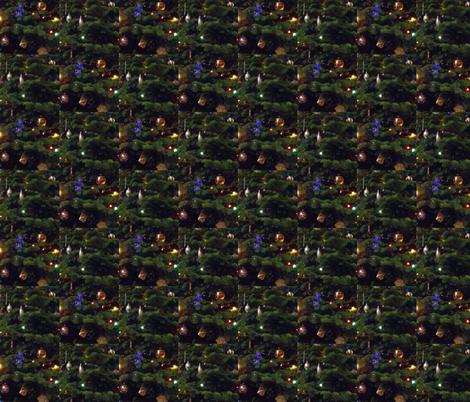 Tree Lights fabric by ravynscache on Spoonflower - custom fabric