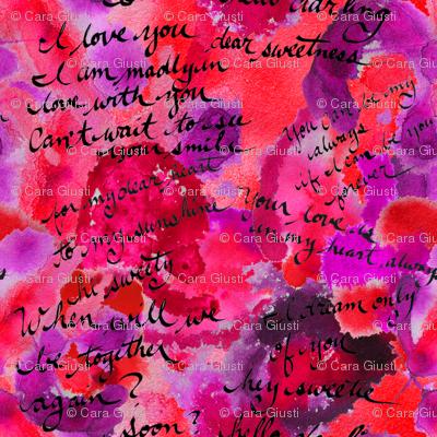 ink blot love letter
