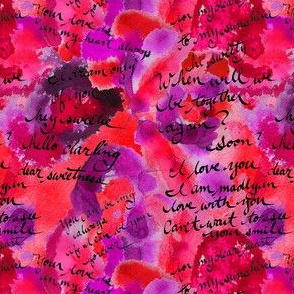 ink blot love letter