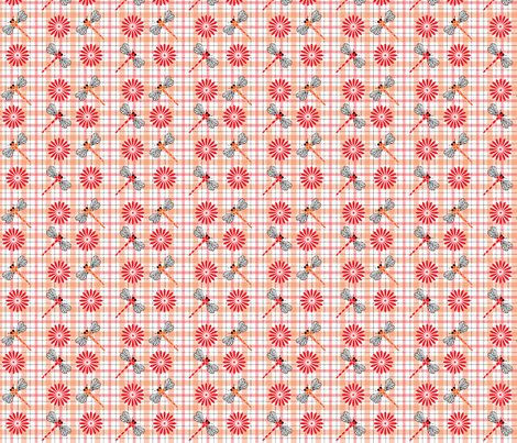 Orange_dragonflies___flowers_plaid.ai_shop_preview
