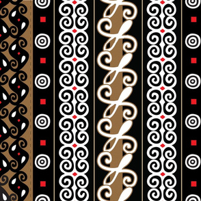 adinkra fabric wallpaper gift wrap spoonflower
