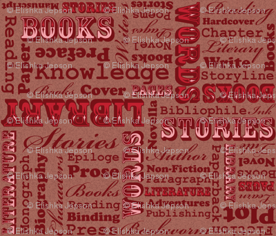 A Book Lover's Medley (Pink)