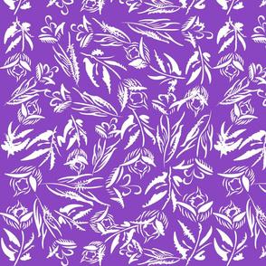 iceflower in purple