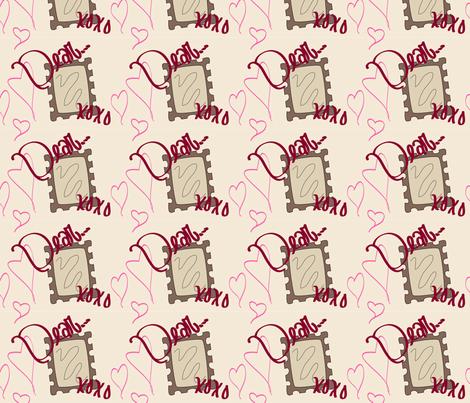 Dear...XOXO fabric by alyciagillaspie on Spoonflower - custom fabric