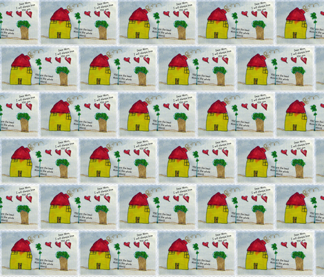 Heart___Home-ed-ed fabric by kidsart2sew on Spoonflower - custom fabric