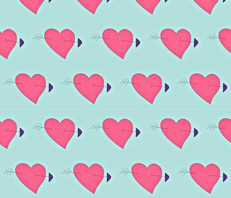 spoonflower_valentines_day-ed-ed fabric by bsb3p on Spoonflower - custom fabric