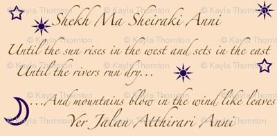 dothraki notes