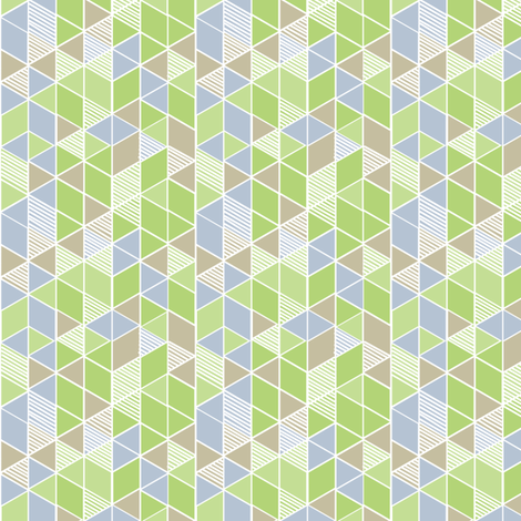 """Walk in the Park (3"""") fabric by penina on Spoonflower - custom fabric"""
