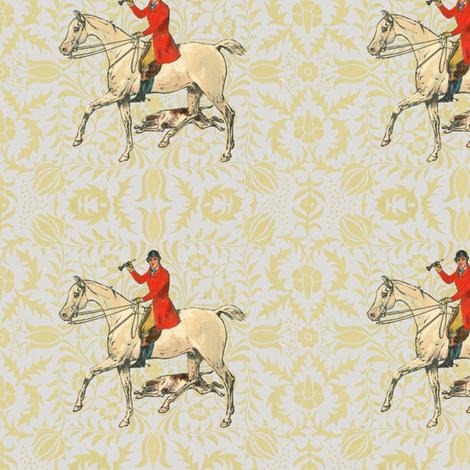 Morris' Hunter fabric by ragan on Spoonflower - custom fabric